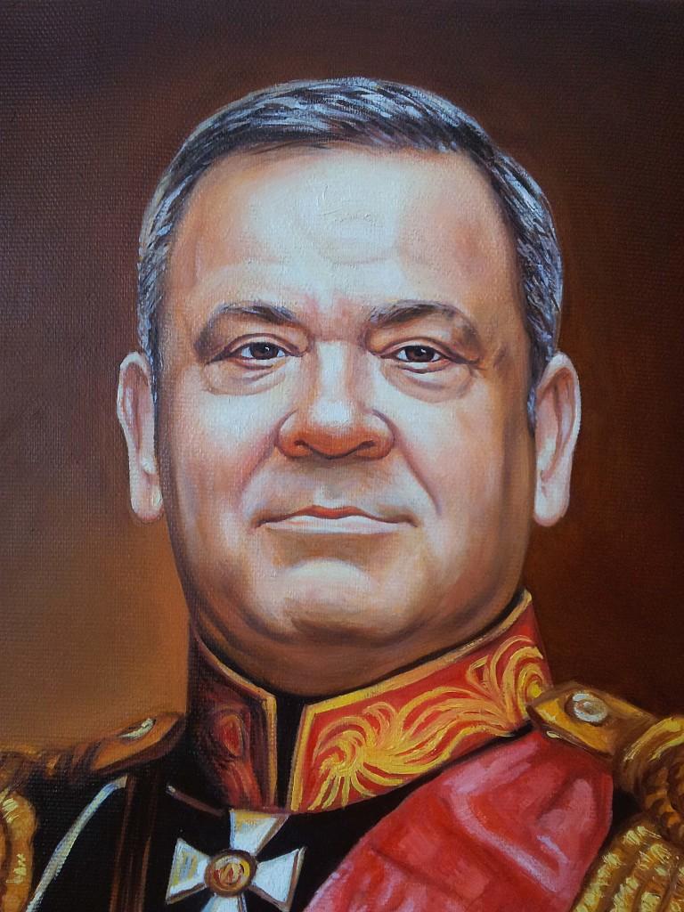 Портрет маслом на холсте в Липецке