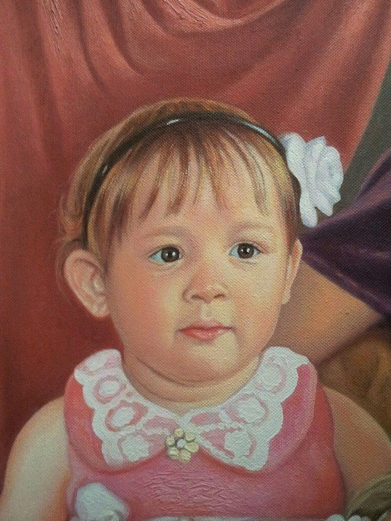 Портрет маслом семейный Липецк