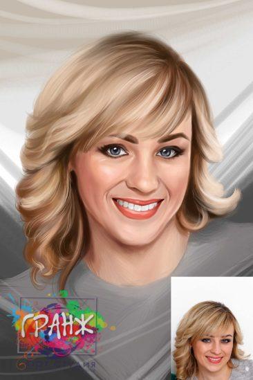 Портрет по фото в подарок учителю, преподавателю или тренеру к 1 сентября…