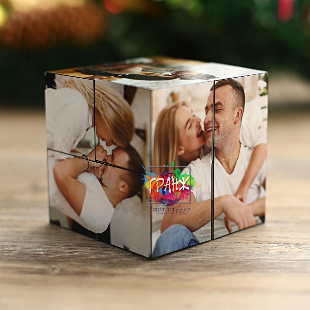 кубик трансформер с фотографиями